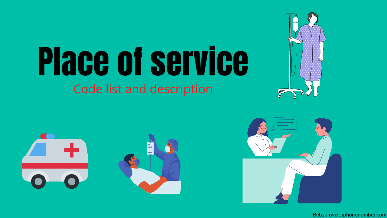 Place of service code list